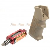 Super High Torque Slim AEG Long Shaft Motor with Grip for M4 Airsoft AEG (DE)