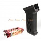 Super High Torque Slim AEG Motor with Grip for AK Airsoft AEG (Black)