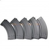 600rds Hi-Capa Magazines for Marui and King Arms AK Series Airsoft AEG (5pcs Pack, Black)