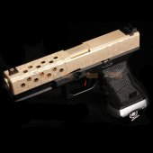 BELL 1/1 scale high performance assembled G17 Airsoft GBB - NO.759 (DE / BK)