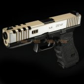 BELL 1/1 scale high performance assembled G17 Airsoft GBB - NO.758L (DE / Black)