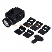 Tactical Weapon Light TLR-7 LED flashlight and Mighty Lumen with UNIV-1/UNIV-2/1913-1/1913-2/1913-3/1913-4 rail (Black)