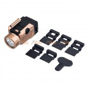 Tactical Weapon Light TLR-7 LED flashlight and Mighty Lumen with UNIV-1/UNIV-2/1913-1/1913-2/1913-3/1913-4 rail (DE)