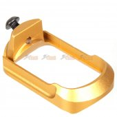5KU Lightweight Compact Magwell for Marui G17,G18c / VFC G19 GBB (Gold)