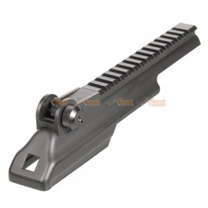ak rail top cove rear sight cyma spetsnaz ak47  ak74 airsoft aeg black
