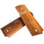 handmade 1911 springfield armory wood grips cover
