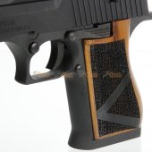 wood grips we desert eagle airsoft gbb pistol