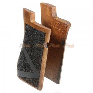 desert eagle wood grips marui airsoft gbb pistol