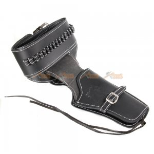 Tactical Airsoft Right Handed Synthetic Leather Belt Holster (Horse pattern)