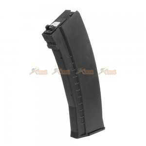 45 Rounds CO2 Gas Magazine for WELL AK74 Airsoft GBBR (Black)