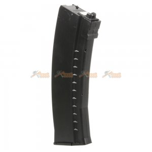 45 rounds co2 gas magazine well ak74 airsoft gbbr black