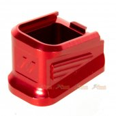 5KU Magazine BasePad for VFC G17 GBB (Red)