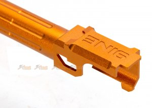 14mm ccw thread 9lNE fluted outer barrel thread protector marui g19 airsoft gbb gold
