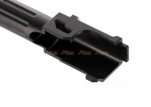 14mm ccw thread 9lNE fluted outer barrel thread protector marui g19 airsoft gbb black
