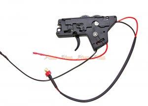 metal gearbox ics m4 series aeg rear wire black