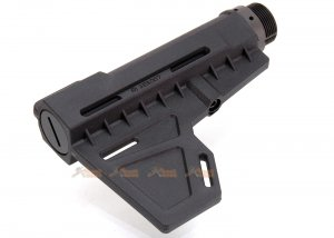 ares amoeba adjstable stock type b ameoba ares m4 series  black