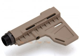 ARES Amoeba Adjstable Stock (Type B) for Ameoba & Ares M4 Series (DE)