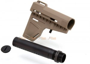 ares amoeba adjstable stock type b ameoba ares m4 series de