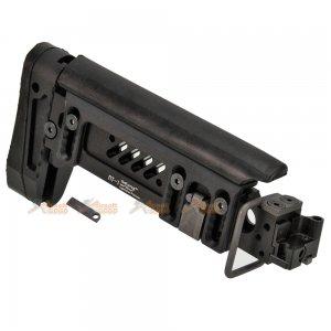 5KU PT-1 AK Side Folding Stock for E&L AK Series AEG (Black)