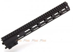 arrow dynamic aluminum mk16 mlok 13.5 inch handguard rail m4 airsoft aeg gbb series black