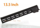 Arrow Dynamic Aluminum MK16 M-Lok 13.5 inch Handguard Rail for M4 Airsoft AEG / GBB Series (Black)