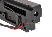cnc aluminum gearbox shell a&k classic army m249 series airsoft aeg black