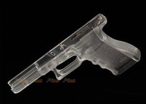 Guns Modify Polymer Gen.3 RTF Lower Grip for Marui G17 Airsoft GBB (Transparent)