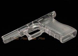 guns modify polymer gen3 rtf lower grip marui g17 airsoft gbb transparent