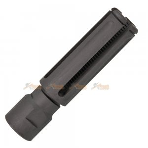 army force steel -14mm ccw long slash hider aeg gbb black