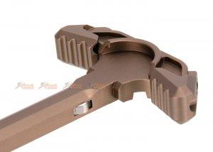 m4 aeg strike latchless charging handle fde