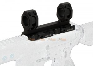 army force tactical 25 30mm qdl01 extension scope mount black