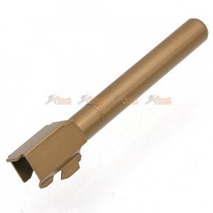 BELL Metal Outer Barrel for BELL G34 Airsoft GBB (Gold)