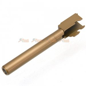 bell metal outer barrel bell g34 airsoft gbb gold