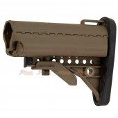 E&C M4 / M16 AEG Fiber MOD Crane Stock (Tan)