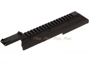 AK Body Top Cover with 20mm Rail for AK Series Airsoft AEG (Black)