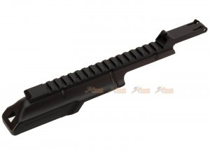 ak body top cover 20mm rail ak series airsoft aeg black