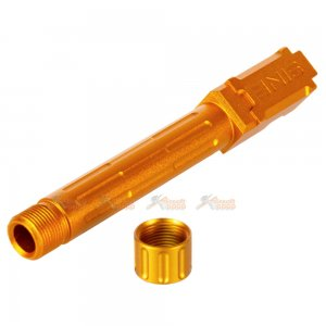 5ku aluminum 9ine 14mm outer barrel thread protector marui g19 gbb gold