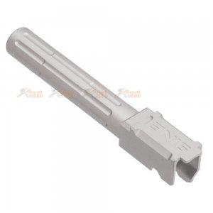 5ku aluminum 9ine outer barrel marui g17 gbb silver