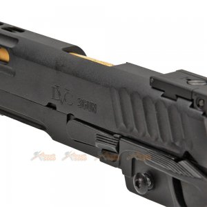 emg sti international dvc 3 gun 2011 slide set marui we hicapa gbb threaded black