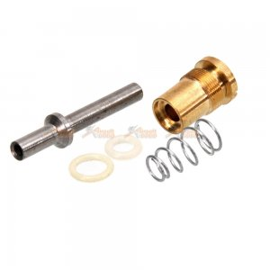 Copper CO2 Magazine Output Valve for WELL AK Series Airsoft GBBR