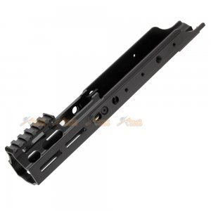 "Magpul PTS Kinetic SCAR MREX M-Lok 4.9""Aluminum Rail for  VFC / WE / Marui SCAR AEG (Black)"