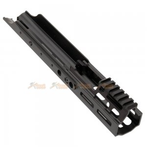 magpul pts kinetic scar mrex mlok 4.9 inch aluminum rail vfc we marui scar aeg black