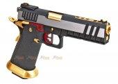 ARMORER WORKS HI-Capa 5.1 Hybrid Gas GBB Pistol (Silver / Gold)