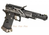 AW Custom HX2401 .38 Supercomp Race GBB Pistol (Black/Silver)