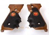 WE Biohazard Samurai Edge Wooden Grip for Beretta 92 / 96 Series GBB