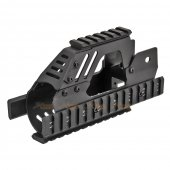 Army Force P90 RAS Rail Handguard for Classic Army / Marui P90 AEG (Black)