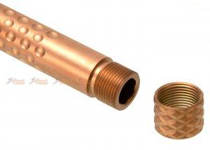 pts zev outer barrel inner barrel marui g17 gbb gold