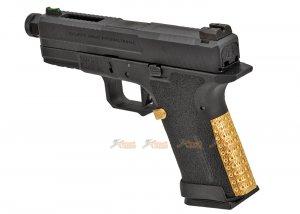emg salient arms international blu compact gbb type green gas magazine