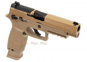 ASG Alloy Slide F17 GBB Pistol (TAN)