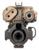 rgw leaf peq front sight 20mm rail orbital grey